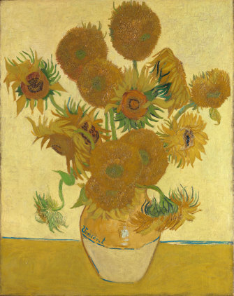 Vincent van Gogh's Sunflowers has an intensity in real life that no photograph can capture.