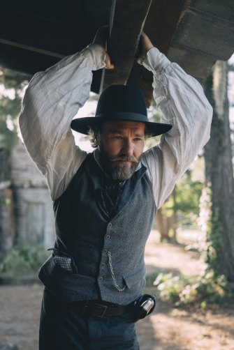 Joel Edgerton says The Underground Railroad 'has a lot of resonance with modern American society', despite its period setting.