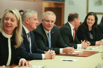 Scott Morrison has been praised for running a traditional cabinet government.