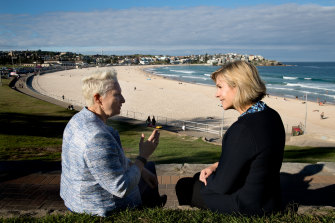 Zali Steggall has used independent MP for Wentworth Kerryn Phelps as a sounding board.