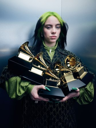 "Eilish cleaned up at the Grammys in January. At one point, however, she said the impact of fame made her feel like she was ""in jail""."