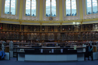 The British Museum Library Reading Room: I found the intensively centred space was too inclusive, too controlling for writing.
