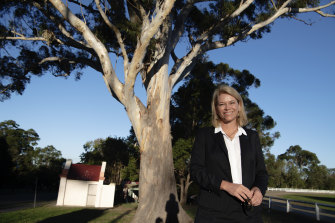 Katrina Hodgkinson is a former NSW MP who is attempting to switch to federal politics.