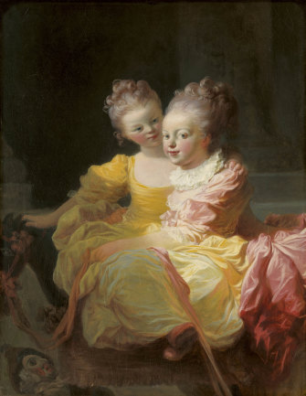 The Two Sisters by Jean Honore Fragonard, c1769-70.