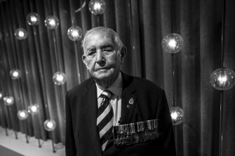 Donald Kennedy, a Merchant Navy veteran, first went to sea aged 16 in February 1944 on a Norwegian tanker.
