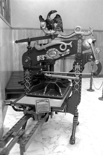 The Columbian Press first used to print the Herald.