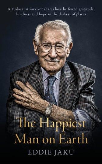 Book jacket of Eddie Jaku's book published this week.