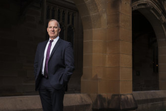 University of Sydney vice-chancellor Michael Spence advocates a broad education.
