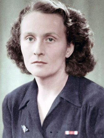 A member of the French Resistance, Catherine Dior was captured by the Nazis.