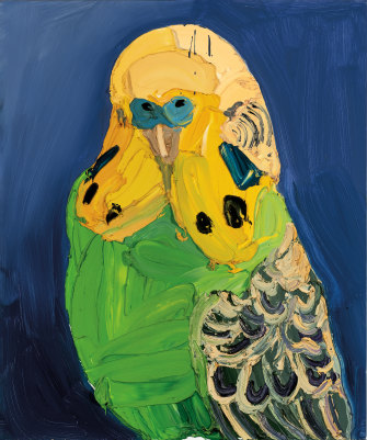 Ben Quilty's Beast 2 (2005) set a new record for the artist, soaring almost five times above its high estimate to sell for $220,000 ($270,000 including buyer's premium).