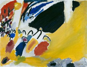 Kandinsky's Impression III (Concert), 1911.