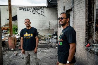 Ruhel Islam and Riz Prakasim are hopeful about the future.
