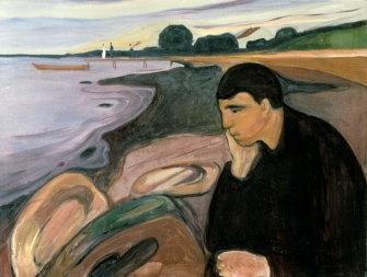 Edvard Munch's Melancholy (1894-95)