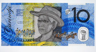 Blood Money – Ten Dollar Note – featuring Vincent Lingiari by Dr Ryan Presley.
