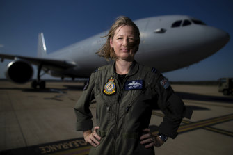 Flight Lieutenant Anna Lovatt is a pilot with 33 Squadron. She flies the KC-30 – an aerial refuelling aircraft – and is based at RAAF Amberley near Brisbane.