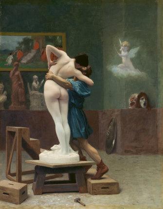Jean-Léon Gérôme, Pygmalian and Galatea, c1890.