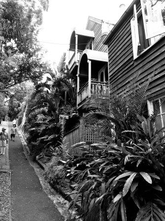 Narrow street, Balmain.