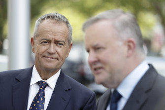 Bill Shorten and Anthony Albanese were rivals for the Labor leadership in 2013.