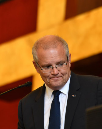 Prime Minister Scott Morrison was raised in the Presbyterian-Uniting Church faith by his mother and father, and found the Pentecostal faith as an adult.