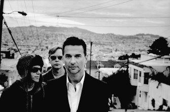 Depeche Mode in San Francisco, 2008.