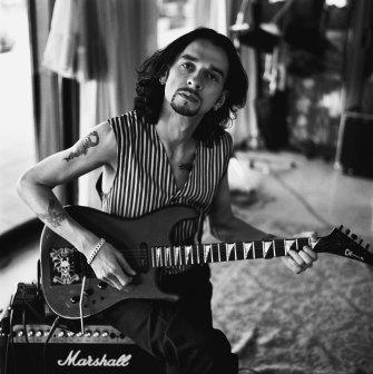 Dave Gahan in Madrid, 1992.