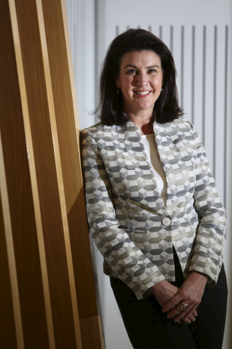 Jane Hume was promoted to Minister for Superannuation and Financial Services.