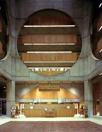 Phillips Exeter Library, Exeter, New Hampshire.