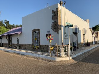 A historic home in San Ygnacio that is set to be affected if a border wall is built.