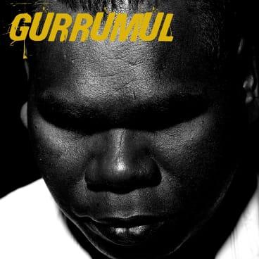 The cover of Gurrumul's eponymous studio album (2008).