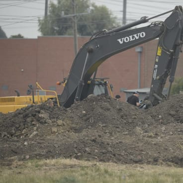 Using a digger to crack a murder: Looking for Terry Blewitt's body in Thomastown.