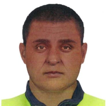 A composite image of the man police want to speak to about a sexual assault in the CBD.