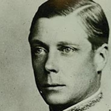 A portrait of King Edward VIII