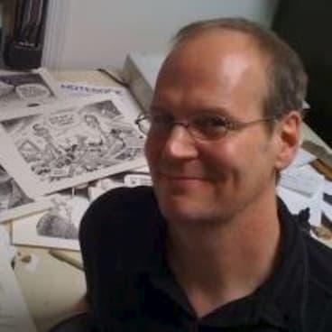 Cartoonist Rob Rogers