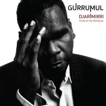 The cover of Gurrumul's posthumous album, Djarimirri (2018).