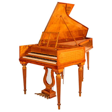 The Pleyel piano, which is to be auctioned off this month