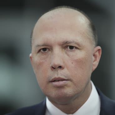"""They don't realise how completely dead they are to me"": Home Affairs Minister Peter Dutton on his media critics."