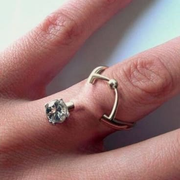 Experts Are Warning Against Engagement Ring Piercings