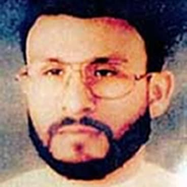 Abu Zubaydah, date and location unknown.
