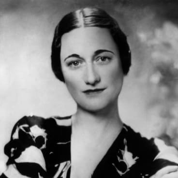 Wallis Simpson, 1936.