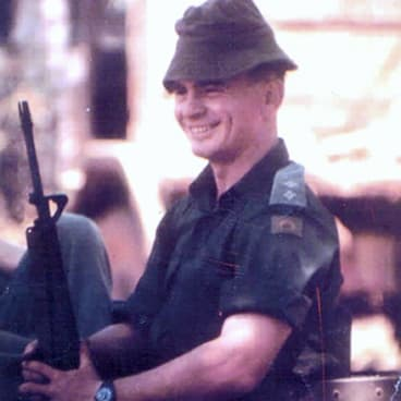 Colonel Ian Ahearn (retired).