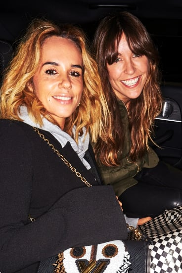 PE Nation's Pip Edwards and Claire Tregoning at the Mercedes-Benz Weekend Edition Launch Party last Friday.