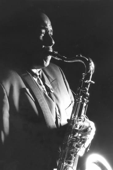 Jazz legend Charlie Parker.