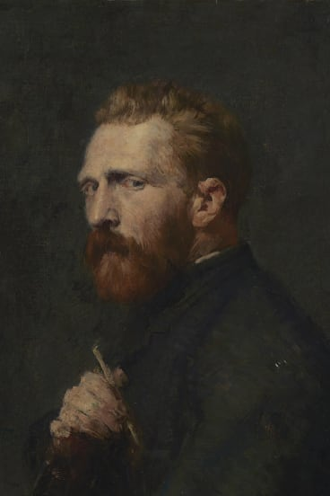 Russell's portrait of Vincent van Gogh delighted the Dutchman. John Russell, Vincent van Gogh, 1886, oil on canvas, 60.1cm X 45.6cm, Van Gogh Museum, Amsterdam (State of the Netherlands)