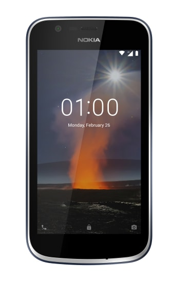 The Nokia 1 is cheap but competent.