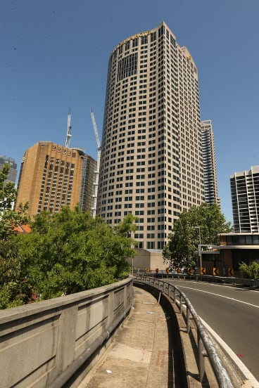 The Shangri-La Hotel in Sydney, where the alleged assault occurred.