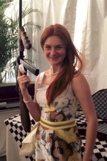 Maria Butina in an image from her Facebook page.