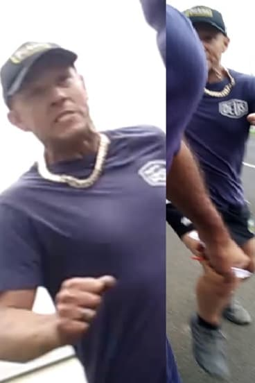 Police wish to speak to this man over a vicious road rage attack in Melbourne.