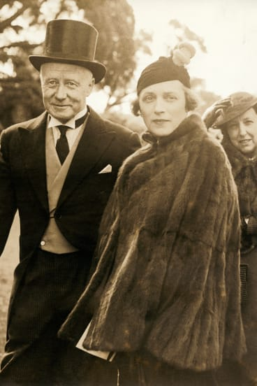 Sir Charles Lloyd Jones and his wife, the indomitable Hannah.