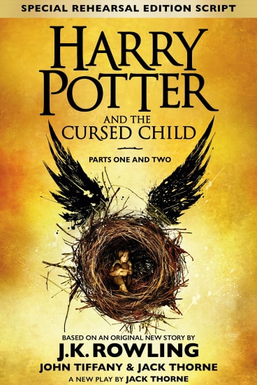 <p>Harry Potter and the Cursed Child. By J.K. Rowling, John Tiffany & Jack Thorne. Script by Jack Thorne.</p>
