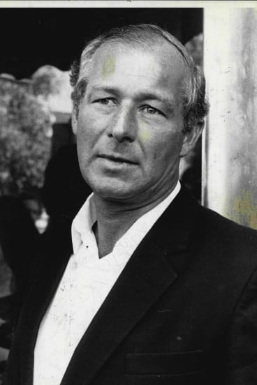 Detective Sergeant Roger Rogerson days before his dismissal in 1986: The beginning of the end.